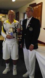 Peter(Badger) Winner of The Cornish Times trophy